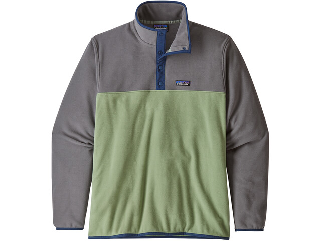 Patagonia Micro D Snap-T Pullover Heren, matcha green